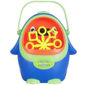 企鵝泡泡機兒童全自動不漏水電動吹泡泡槍棒神器浴室寶寶洗澡玩具小梨雜貨鋪