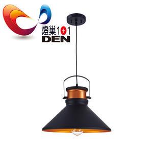 【燈巢1+1】 燈具。燈飾。Led居家照明。桌立燈。工廠直營批發 安德列金屬單燈吊燈 02084803