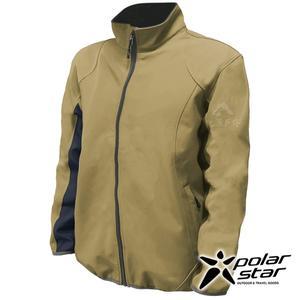 PolarStar 男 Soft Shell保暖外套『卡其』P18211 戶外 休閒 登山 露營 保暖 禦寒 防風