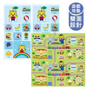 泰山美龍 兒童遊戲地墊 (巧虎列車長+快樂學英語) 巧虎正版授權 180*200*1.5cm