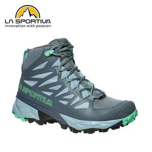 【速捷戶外】義大利 LA SPORTIVA 24G903704 BLADE GTX 女防水透氣中筒健行登山鞋(石板灰),防水,登山