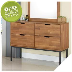 衣櫥【YUDA】亞瑟 3.5尺 柚木集層 四斗櫃 / 置物櫃 / 收納櫃 J8F 023-4