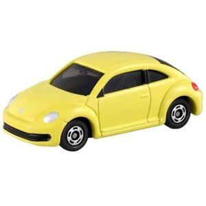 〔小禮堂〕TOMICA小汽車 福斯金龜車《33.黃》公仔.玩具.模型 4904810-43878
