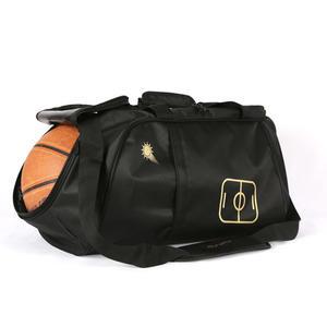運動包男大健身包女斜挎手提足球籃球訓練包袋單肩圓筒包旅行背包-凡屋