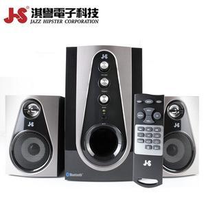 JS JY3052 不倒翁 2.1藍牙全木質喇叭