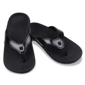《Spenco》YUMI 女 經典款涼拖鞋 黑色 SF39-920