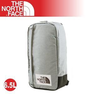 【The North Face 6.5L 多功能單肩斜背包《灰》】3G8K/耐磨側背包/隨行提包/零錢包