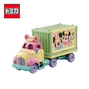 【日本正版】TOMICA 復活節 宣傳車 2018 日本7-11限定款 玩具車 Disney Motors 多美小汽車 - 973362