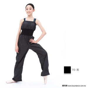 *╮寶琦華Bourdance╭*專業瑜珈韻律芭蕾☆塑身連身長褲★【BDW15B23】