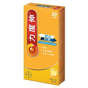 力度伸 維他命C+鋅發泡錠30錠【全成藥妝】
