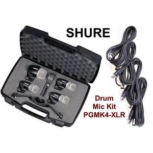 【金聲樂器】SHURE PGDMK4 打擊樂器/鼓組 收音麥克風 套件 麥克風
