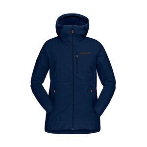 Norrona 老人頭 Svalbard Lightweight 外套 女 靛青藍