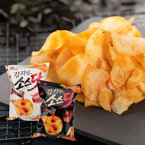 韓國 ORION 好麗友 醬汁點點洋芋片(茄汁/辣味) 60g【庫奇小舖】