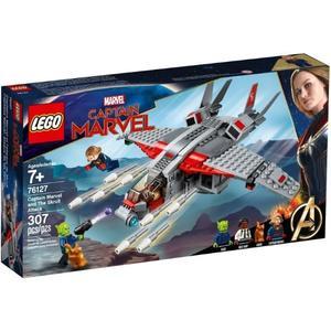 樂高LEGO SUPER HEROS 驚奇隊長與史克魯爾人進攻 76127 TOYeGO 玩具e哥