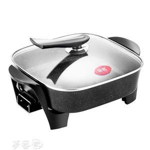電烤爐 韓國烤肉鍋無煙燒烤爐家用電3-5人麥飯石電烤盤烤肉火鍋一體鍋igo 夢藝家