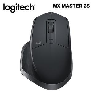 LOGITECH 羅技 MX Master 2S 無線滑鼠 - 黑色