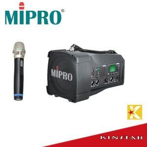【金聲樂器】 MIPRO MA-100SB 超迷你肩掛式無線喊話器 1組無線麥克風 MA100SB