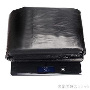 超大垃圾袋加厚大號黑色酒店物業環衛特大商用家用塑膠袋80x100cm 漾美眉韓衣