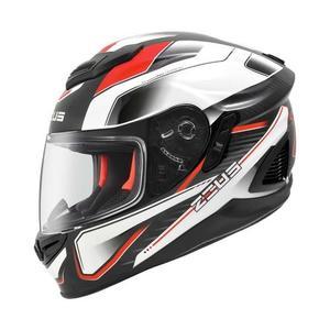 [東門城] ZEUS ZS1600 AK4 透明碳纖 紅 內遮陽鏡片 通風佳 排氣快 全可拆洗內襯 雙D釦 眼鏡溝設計