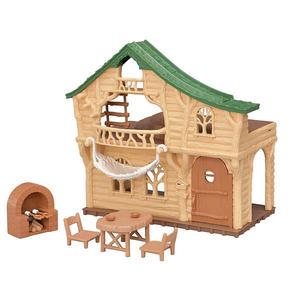 森林家族 場景 森林探險小木屋