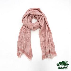 Roots-配件- 薩格奈圍巾 - 粉色