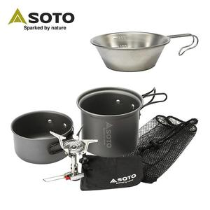 【SOTO超值組合】 SOTO 攻頂登山爐組SOD-320CC+SOTO露營杯Sierra Cup St-SC20