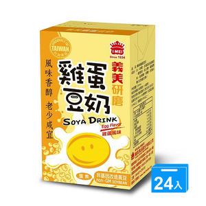 義美雞蛋豆奶 250ml*24入/箱【愛買】