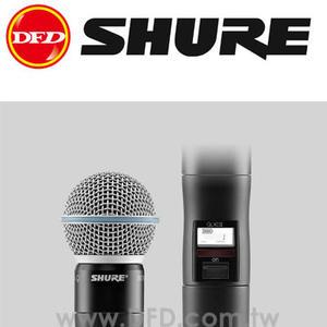 美國 舒爾 SHURE QLXD2/BETA58A 無線麥克風系統 公司貨