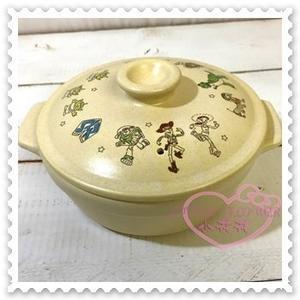 ♥小花花日本精品♥ Hello Kitty Disney迪士尼玩具總動員6號陶鍋陶瓷鍋1000cc 01100501