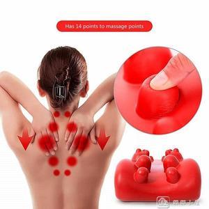 日本指壓按摩脊椎頸部背部頸椎按摩器肩頸舒緩架保健舒緩枕按摩墊 YXS娜娜小屋