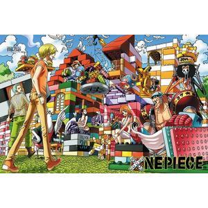 【拼圖總動員 PUZZLE STORY】航海王-積木之家 PuzzleStory/海賊王 One Piece/1000P