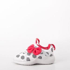 ADIDAS  愛迪達 迪士尼米妮 蝴蝶結兒童黏扣運動鞋 D96918