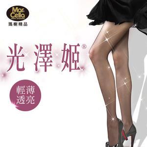 瑪榭 光澤姬網織褲襪-亮澤網織款