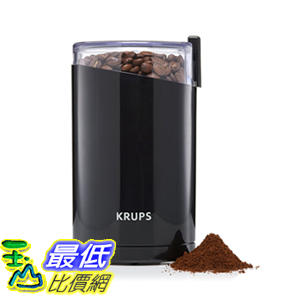 [106美國直購] 咖啡磨豆機 KRUPS F203 Electric Spice and Coffee Grinder 3-Ounce, Black