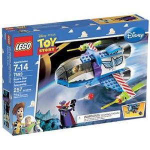 樂高積木 7593 玩具總動員 巴斯的星際總部飛船 巴斯光年 札克 ( LEGO Toy Story )