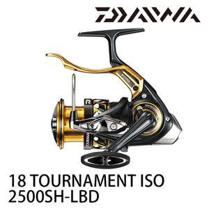 漁拓釣具 DAIWA 18 TOURNAMENT ISO 2500SH-LBD (手煞捲線器) #紅蟳