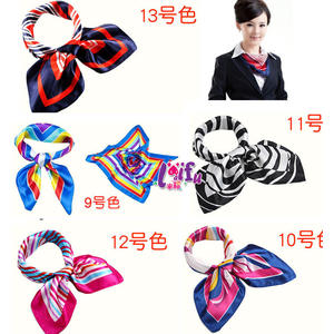 來福,K174進口絲巾餐飲銀行空姐制服絲巾領巾,售價150元