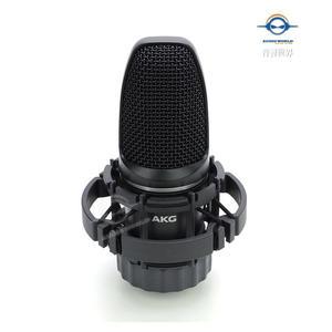 【音響世界】AKG C3000心型指向多功能收音電容式麥克風》黑色款》附美製Pro Co 5米線