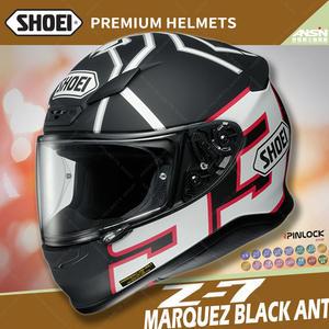 [中壢安信]日本 SHOEI Z-7 彩繪 MARQUEZ BLACK ANT 黑螞蟻 選手帽 全罩 安全帽 小帽體
