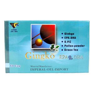 利清素銀杏EPA60粒 魚油 DHA Omega-3 具實體店鋪
