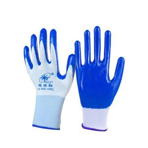 勞保手套 手套勞保浸膠耐磨 工作防水防滑 塑膠橡膠工業帶膠膠皮手套〖全館限時八折〗