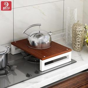 灶台蓋板廚房微波爐收納架子天燃氣集成灶置物架多動能電磁爐子QM『美優小屋』