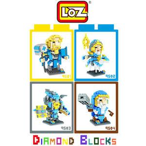 LOZ 迷你鑽石小積木 刀塔傳奇 樂高式 組合玩具 益智玩具 原廠正版