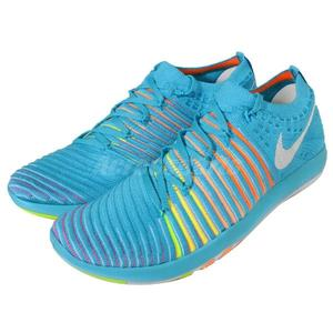 【五折特賣】Nike 訓練鞋 Wmns Free Transform Flyknit 赤足 運動鞋 藍 白 橘黃漸層 女鞋【PUMP306】 833410-400