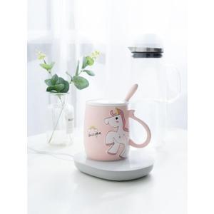 55度恒溫寶水杯熱牛奶神器保溫加熱底座加熱杯墊加熱器自動  星空小鋪