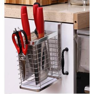 家用放刀架廚房用品插刀座盒