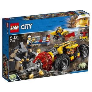 【LEGO 樂高積木】City 城市系列-採礦重型鑽孔機 LT-60186