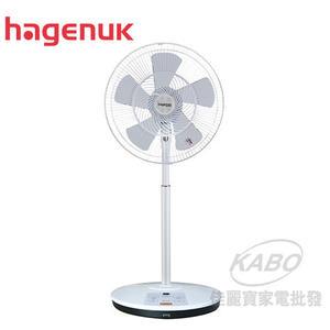 【佳麗寶】-(哈根諾克)16吋微電腦遙控DC直流電風扇 【HGN-168DC】限量下殺