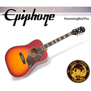 【小麥老師樂器館】Epiphone HummingBird Pro 單板 電民謠吉他 電木吉他 吉他