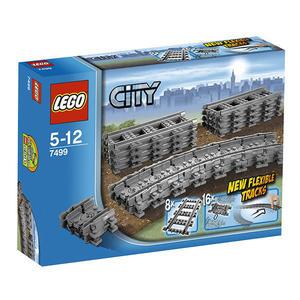 樂高積木LEGO《 LT 7499 》CITY城市系列- 靈活的軌道╭★ JOYBUS玩具百貨